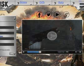 Nro 12 kilpailuun Design a Website Mockup for RTS Browser Game käyttäjältä esterafer