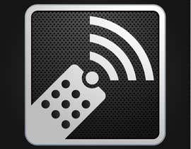 #168 para TV remote control APP Icon design por raikulung