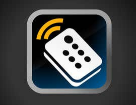#171 for TV remote control APP Icon design af praxlab