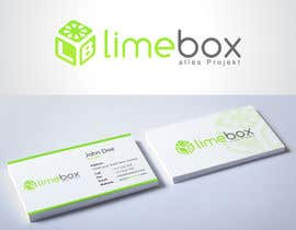 #153 for Design a Logo and a business card for limebox af HammyHS