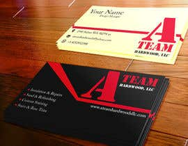 #6 for Design some Business Cards for A Team Hardwoods by SGondor