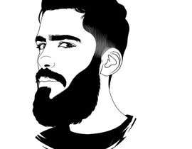 #41 cho Illustrate a tough manly masculine bearded rough FACE bởi a7mdmostafa