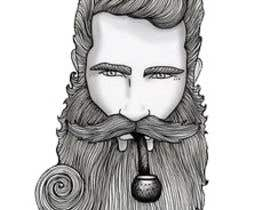 #55 cho Illustrate a tough manly masculine bearded rough FACE bởi Param5