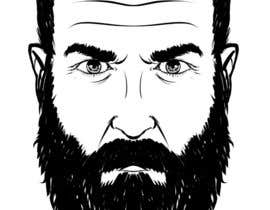#46 cho Illustrate a tough manly masculine bearded rough FACE bởi marcokap