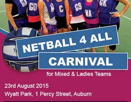 #24 cho Design a Flyer for Netball Carnival bởi BWDesigns7