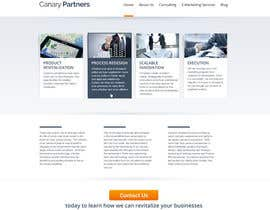 #20 for Build a Website for canarypartners.com af BillWebStudio