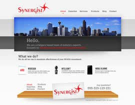 #10 para Wordpress Theme Design for Synergist SCADA INC por yesidesign