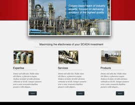 #12 para Wordpress Theme Design for Synergist SCADA INC de zoreli