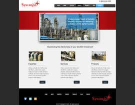 #41 untuk Wordpress Theme Design for Synergist SCADA INC oleh zoreli