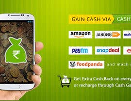 #7 for Design a Coverpage & Banner for Cash Gain App af rituhanda