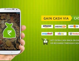 #8 for Design a Coverpage & Banner for Cash Gain App af rituhanda