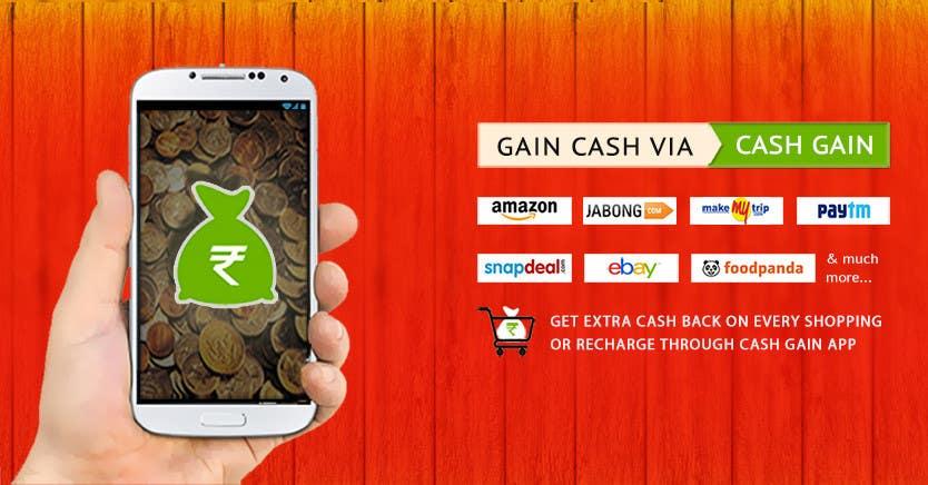 Penyertaan Peraduan #12 untuk Design a Coverpage & Banner for Cash Gain App