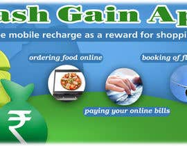 #9 for Design a Coverpage & Banner for Cash Gain App af omds