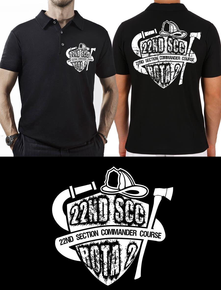 Penyertaan Peraduan #8 untuk Design a T-Shirt for 22nd SCC