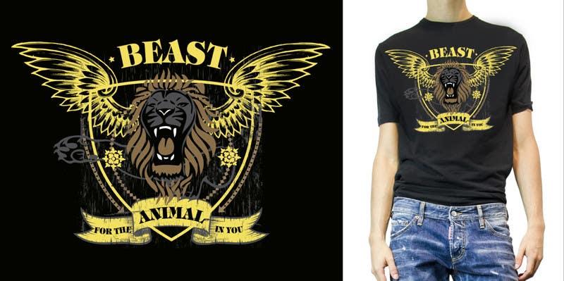 Kilpailutyö #25 kilpailussa Design a Mens or Womens MMA style T-Shirt
