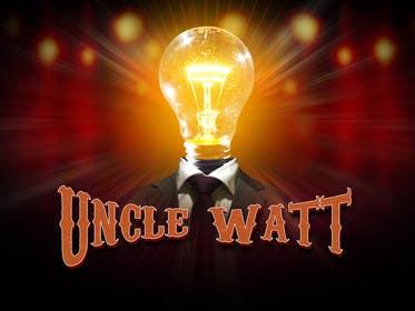 Nro 5 kilpailuun Rock Band Logo--Uncle Watt käyttäjältä lavdas215