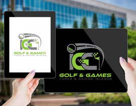 #178 untuk Logo for new indoor/outdoor virtual golf and games center oleh AalianShaz