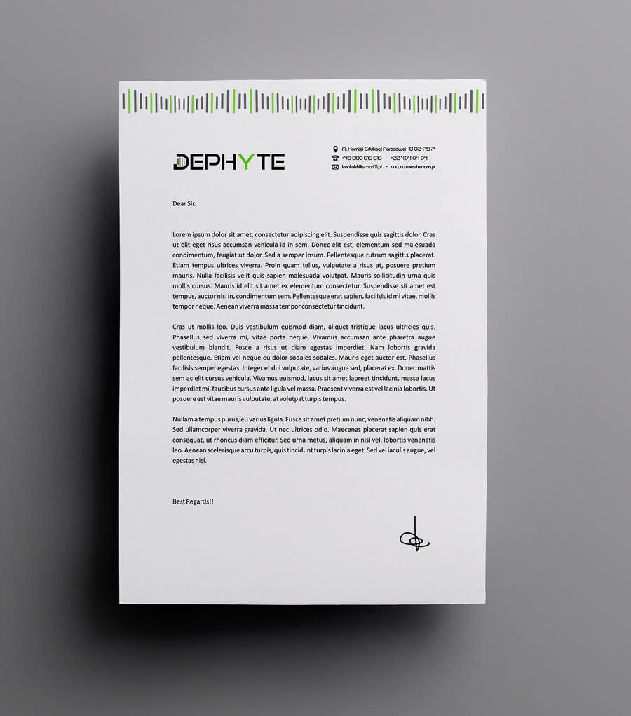 Bài tham dự cuộc thi #14 cho Ich benötige ein grafisches Design for a letter header
