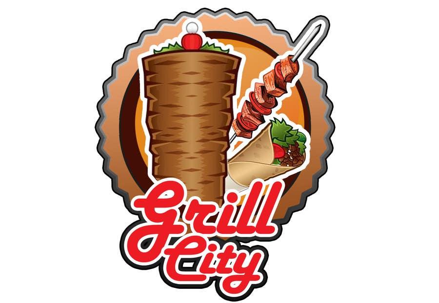 Kilpailutyö #28 kilpailussa Design a Logo for Grilled Food Restaurant