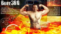 Graphic Design Entri Peraduan #23 for Add Muscles, Lightning, Fire and Awsomeness to a photo of Me