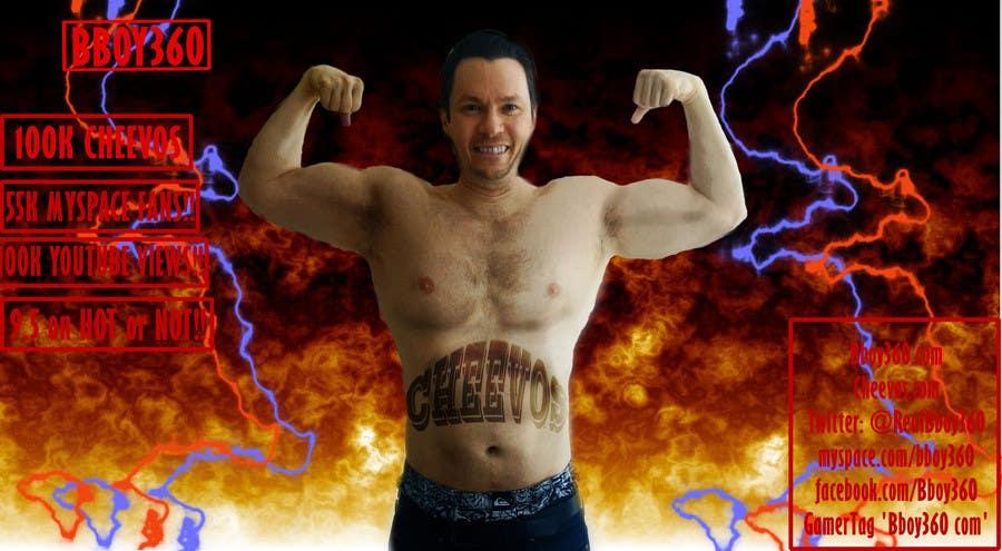 Penyertaan Peraduan #                                        8                                      untuk                                         Add Muscles, Lightning, Fire and Awsomeness to a photo of Me