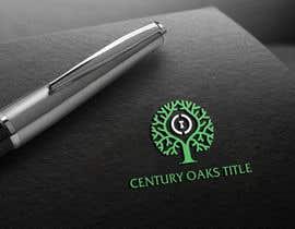 #71 untuk Design a Logo for Century Oaks Title oleh nipen31d