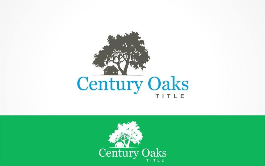 Konkurrenceindlæg #87 for Design a Logo for Century Oaks Title