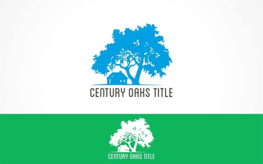 Konkurrenceindlæg #89 for Design a Logo for Century Oaks Title