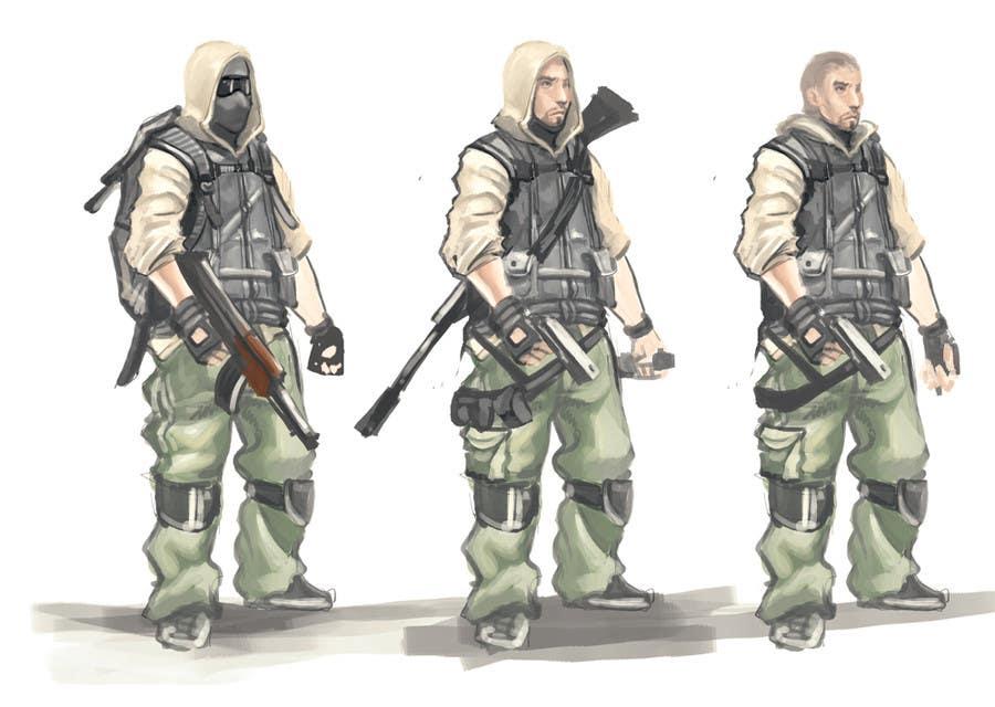 Bài tham dự cuộc thi #                                        14                                      cho                                         Soldiers VS Terrorists Concept Art