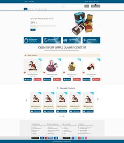ankisethiya tarafından Design a Website Mockup için no 3