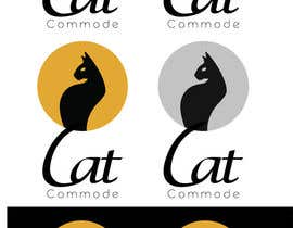 vicos0207 tarafından Design a Logo for the Cat Commode için no 15