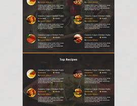 muhamedibrahim25 tarafından Food Website Design için no 3