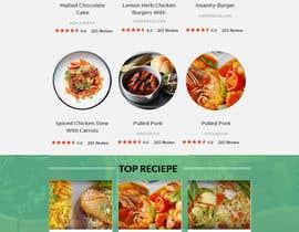 lassoarts tarafından Food Website Design için no 37