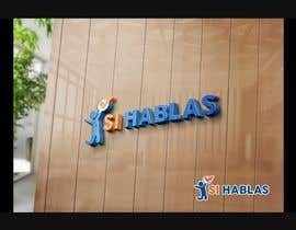 Nro 12 kilpailuun Design a LogoS for   SI HABLAS käyttäjältä MIL80FX