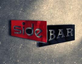 """joshilano tarafından Bar Logo - """"SIDEBAR"""" için no 145"""