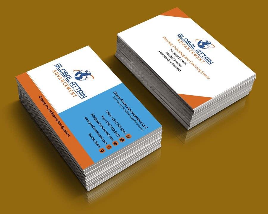 Bài tham dự cuộc thi #8 cho Design some Business Cards for GAA