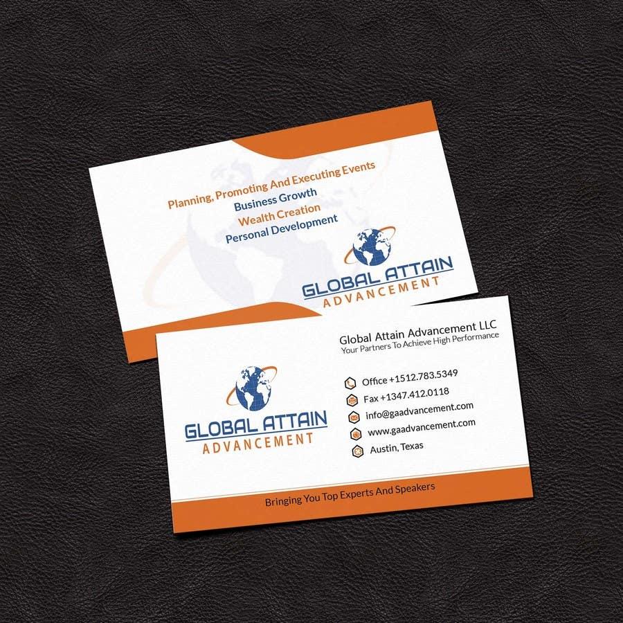 Bài tham dự cuộc thi #10 cho Design some Business Cards for GAA