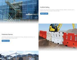 #41 untuk Design a Website Mockup for Fortress Fencing oleh alexdevero