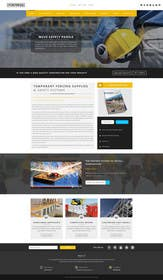 #17 untuk Design a Website Mockup for Fortress Fencing oleh logodesire