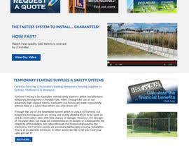 #26 untuk Design a Website Mockup for Fortress Fencing oleh jituchoudhary