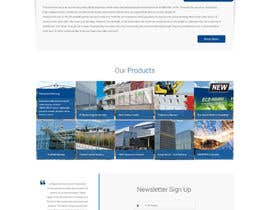 #34 cho Design a Website Mockup for Fortress Fencing bởi samnam83
