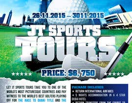 #20 for Design a Flyer for Golf Tour by mirandalengo
