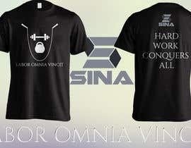 mareknajkowski tarafından Design a T-Shirt for Sina Fitness için no 9