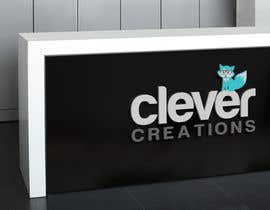 #201 untuk Design a Logo for Clever Creations oleh velimirprostran
