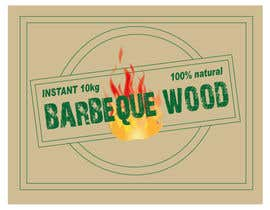 asaddiu tarafından Create Print and Packaging Designs for Barbeque wood için no 16