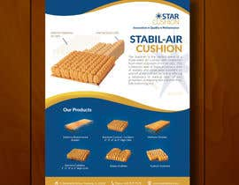 #17 untuk Design an Ad for Star Cushion Products, Inc. oleh leandeganos