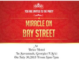 #79 cho Design for a Print Invitation to a Christmas Party in July in Savannah, GA bởi GraphicHimani