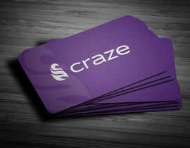 #7 untuk Sleek Business card for Craze oleh anikush