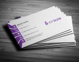 #17 untuk Sleek Business card for Craze oleh Fgny85