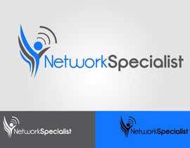 #66 untuk Develop a Corporate Identity for NetworkSpecialist oleh MaestroBm